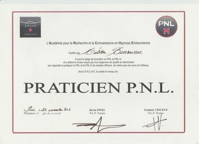 praticien pnl