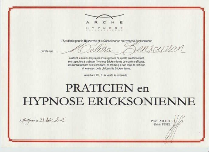 praticienne hypnose ericksonienne